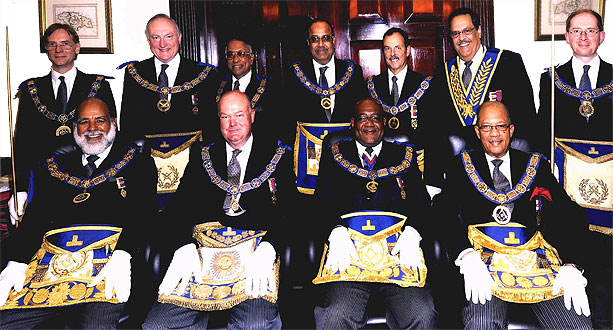 Installation of the DGM, Walter H. Scott